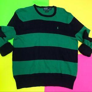 Vintage Polo Ralph Lauren Striped Sweater